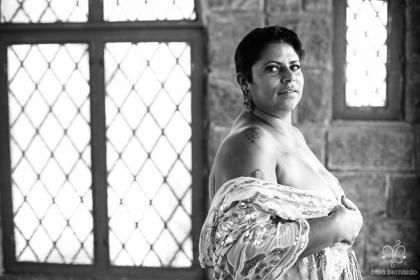 Fabiola, de 33 anos, é outra modelo para a vida fotografada pelo projeto. (Foto: Divulgação)