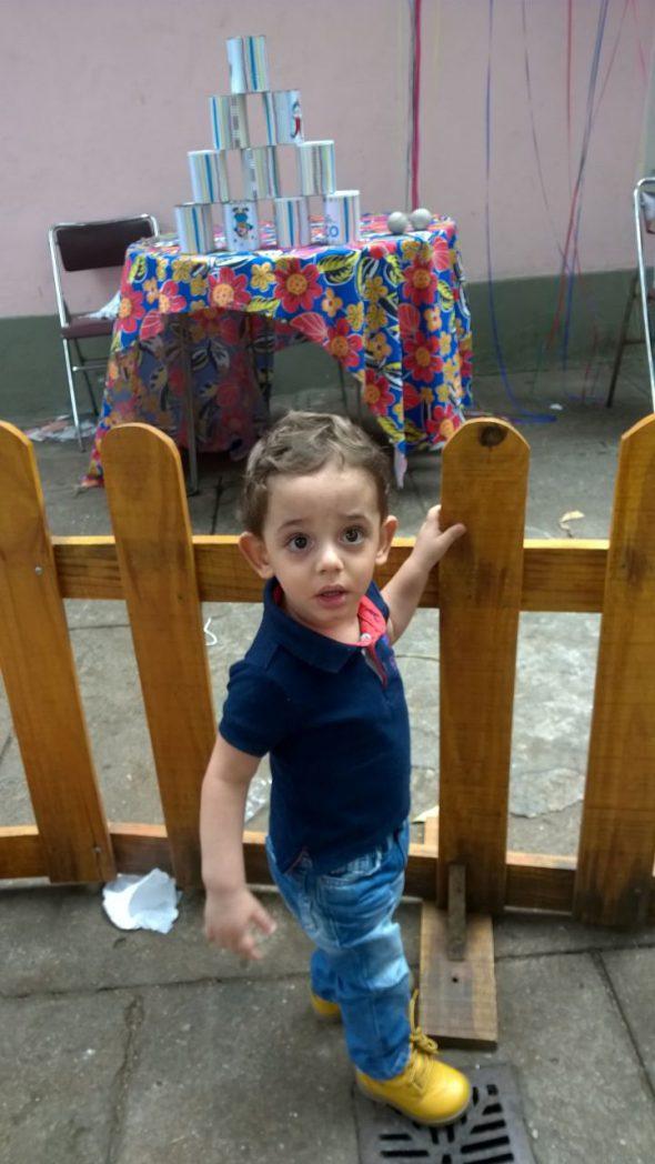 O pequeno Diego nasceu prematuro e passou pelos cuidados na UTI Neonatal da Perinatal