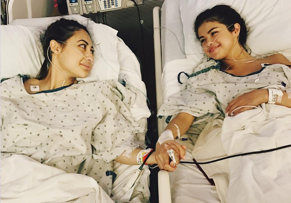 A cantora Selena Gomez  teve que se submeter a um transplante de rim por causa do lúpus (Reprodução do Instagram)