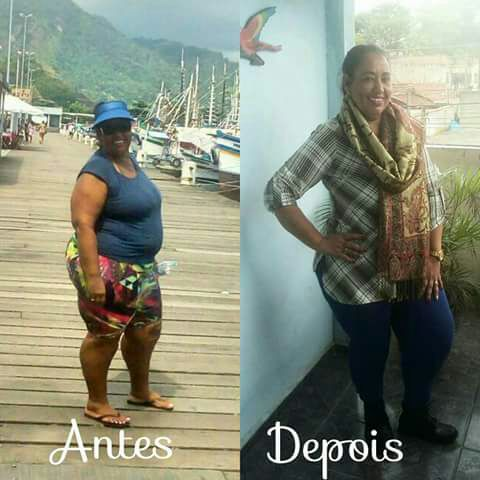 Maria Bernadete se sente feliz porque recuperou a saúde, a auto estima e hoje leva uma vida mais saudável (Foto: Divulgação)