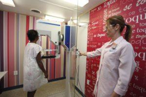 Exame feito no Rio Imagem ajuda a identificar câncer de mama e acelerar tratamento (Foto: Maurício Bazilio)