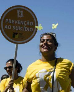 Francis Souza se tornou ativista de campanhas de combate ao suicídio e participou recentemente das ações do Setembro Amarelo (Foto: Acervo pessoal)