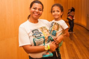 Gisele, mãe de Luiza, fala da importância da novela para ajudar a derrubar o preconceito (Foto: Acervo pessoal)