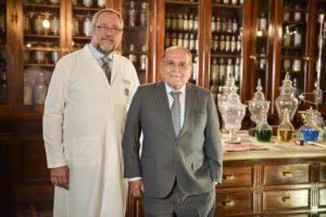 Professor Francesco Mazzarone, responsável pelo Serviço de Cirurgia Plástica da Santa Casa junto com Ivo Pitanguy (Foto: Acervo pessoal)