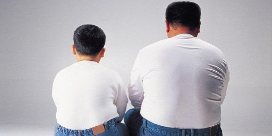 obesidade-filho-pai
