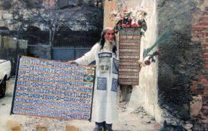 O Profeta Gentileza inspirou muita gente a ser mais gentil e também mais solidário (Foto: Reprodução de Internet)