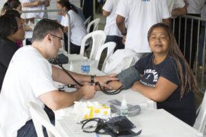 Ação Saúde e Cidadania de 2016 aconteceu na Rocinha (Foto: Felipe Varanda)
