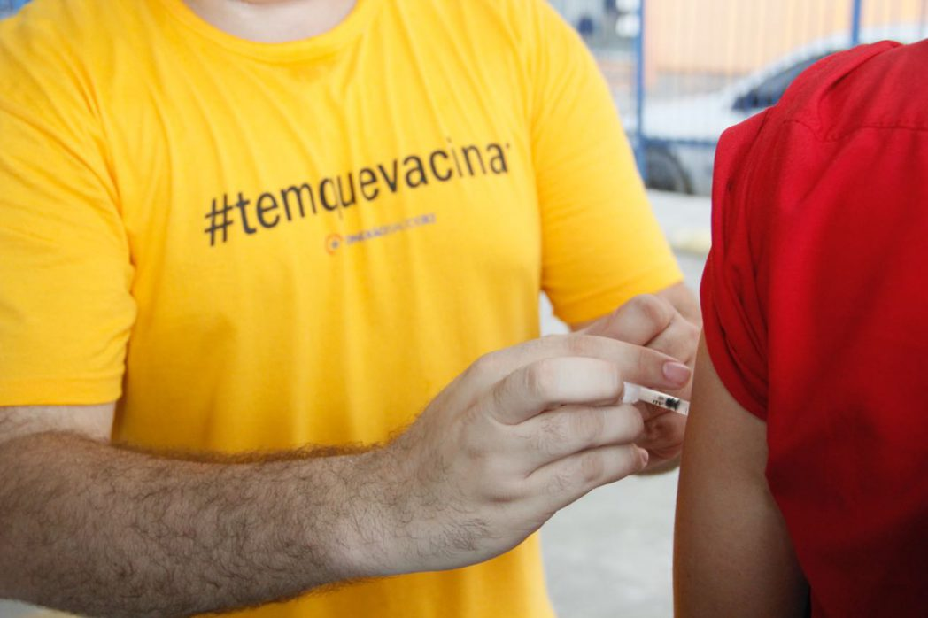 Rio já vacinou 71% do público-alvo (Foto: SES-RJ)
